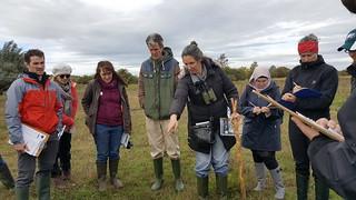 Workshop on use of the Wetlands Guide, Cabragh Wetlands, September 2018   by Irish Ramsar Wetlands