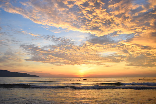 vietnam danang sunrise morning