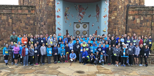 BPSD Group at 2018 Run the Streets 8k at Woolaroc | by gmeador