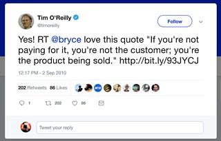 Tim O'Reilly | by thomashawkblog