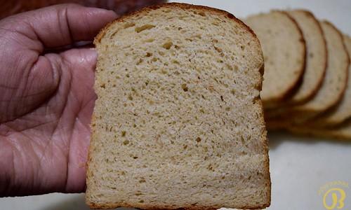 Sweet Potato Bread Slices