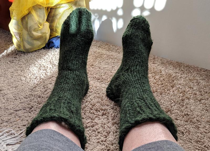 Geen lopi socks