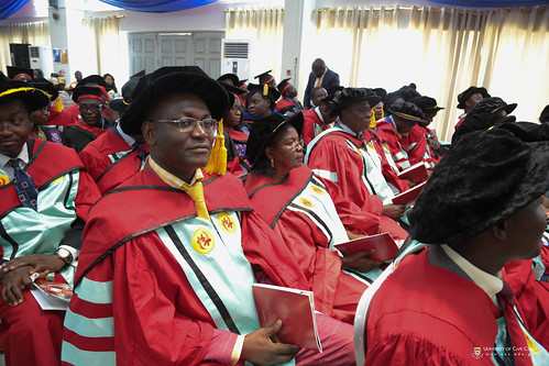 A cross section of members of Convocation