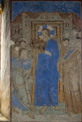 georgia shidakartli kintsvisi monastery saintnicholas fresco