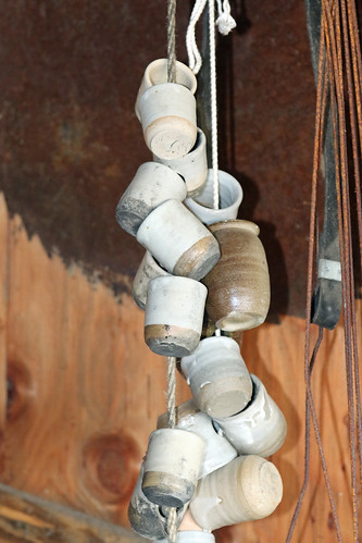 japan hokkaido shari pottery testpiece pot