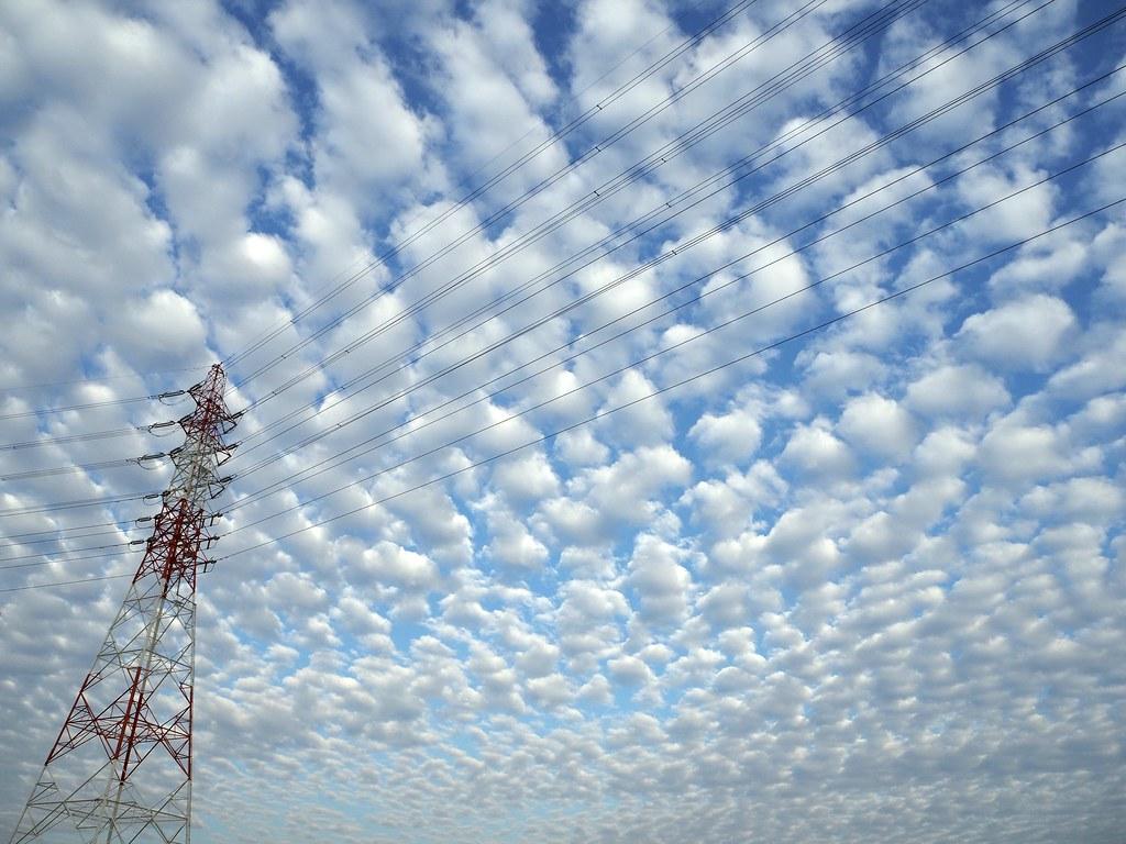うろこ雲  | Mackerel sky