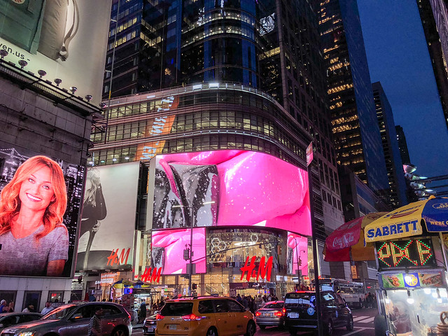 H&M Store, Broadway, Times Square - NYC