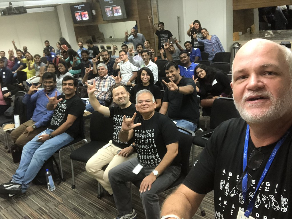 Intuit Selfie with Accessibility Summit