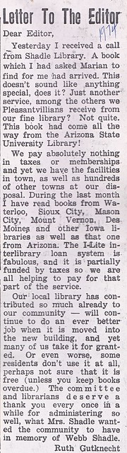SCN_0029 Letter to the Editor 1974xx by Ruth Gutknecht