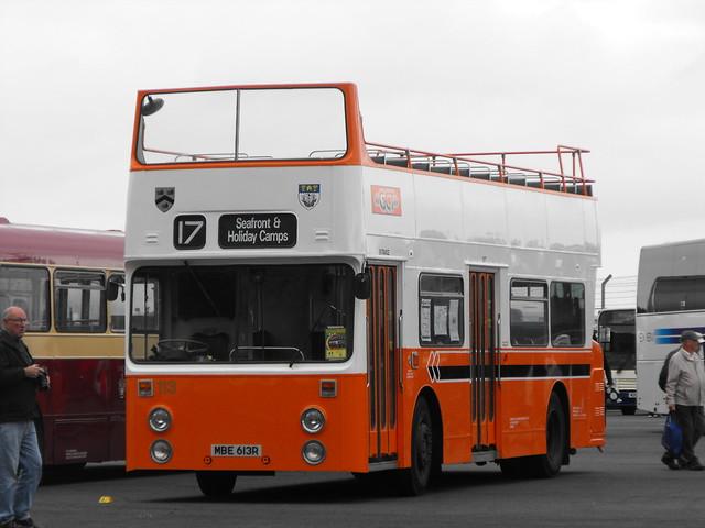 113, MBE 613R, Daimler Fleetline @ Showbus 2018 (9)