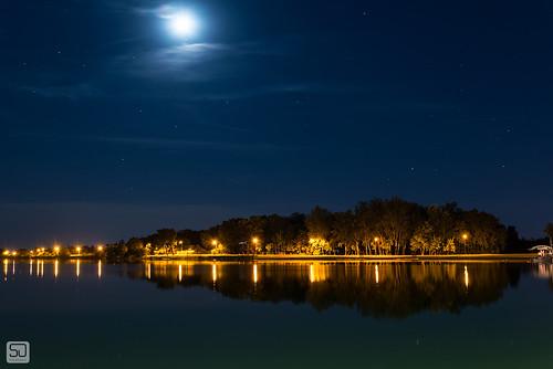 lake jezero palic srbija subotica serbia longexposure nightphotography reflection nikond600 tamron2875f28 landscape