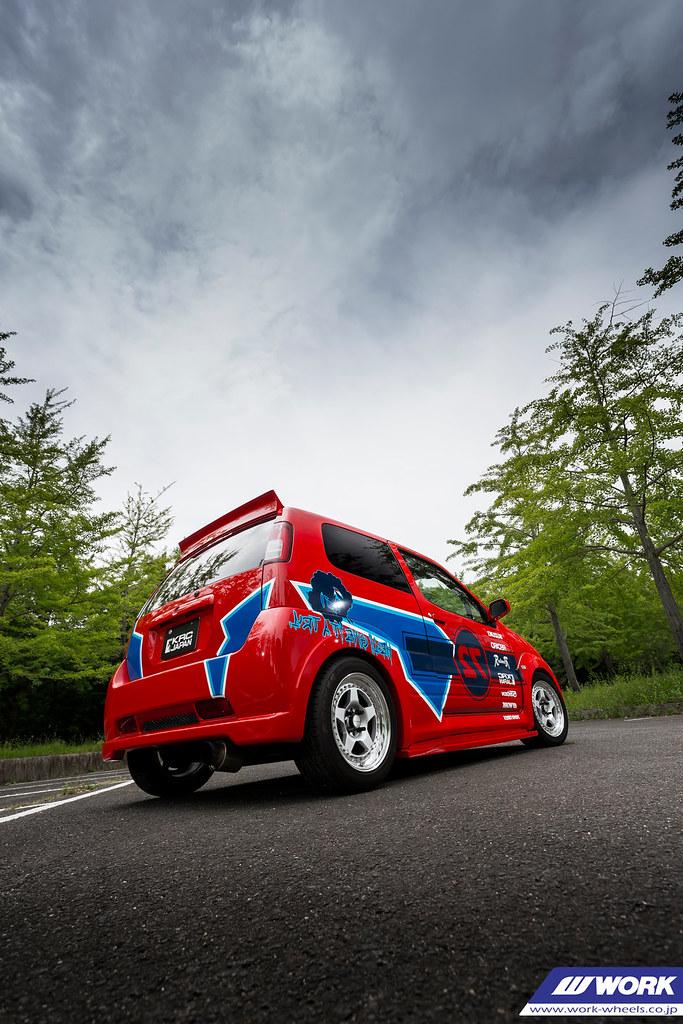 KRC MODIFIED Suzuki Swift on WORK Meister CR01 | F: 15x7J +3