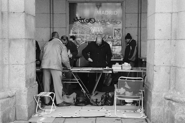 Madrid, Plaza Mayor.