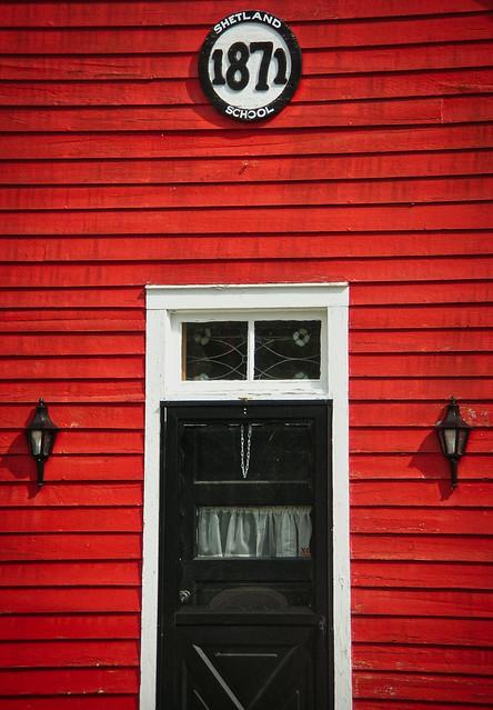Shetland Schoolhouse, Michigan