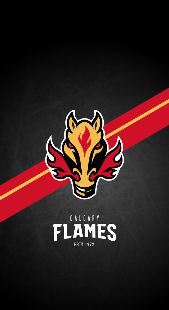 Calgary Flames Nhl Iphone X Xs Xr Lock Screen Wallpaper A Photo On Flickriver