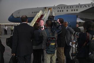Secretary Pompeo Departs Riyadh