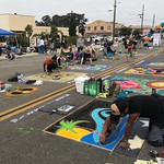 Wendy Sell - Chalk Festival in Old Orcutt