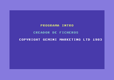 Base de Datos Gemini (C64) | by Deep Fried Brains