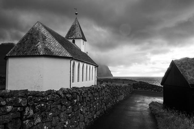 Viðareiði Kirkja - Faroe Islands