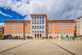Building of elemetary school in Rijeka, Croatia