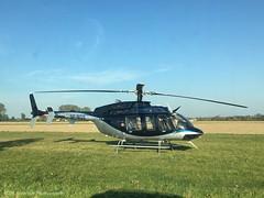 Bell 407GXP SP-MGS at Konstancin 06/10/18