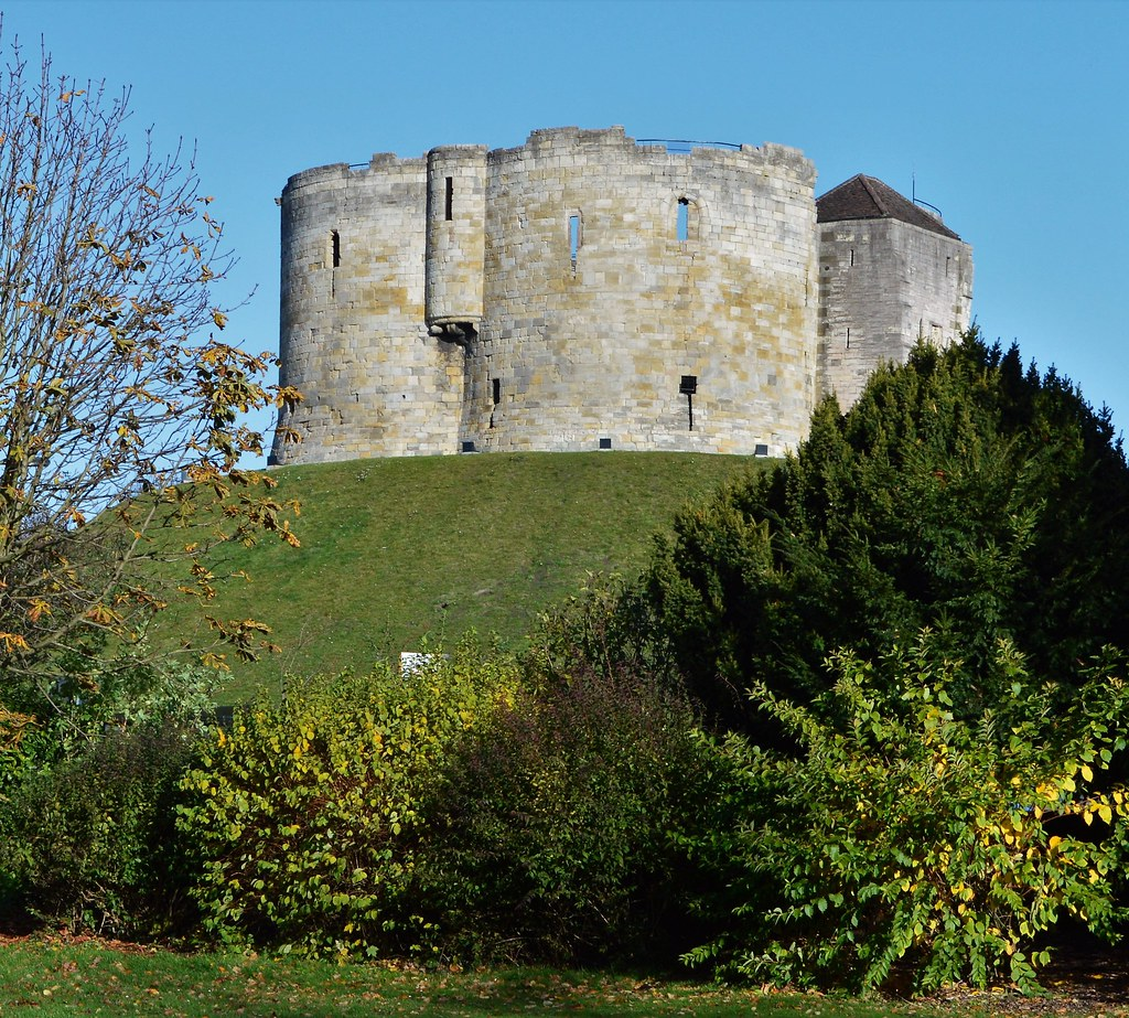 Cliffords Tower, City of York, Yorkshire, England