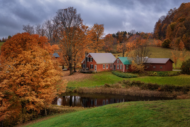The Autumn in Vermont