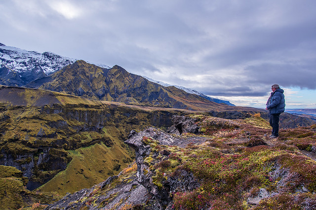 Autum colours in Þórsmörk