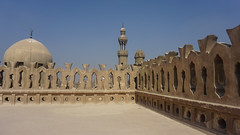 The Mosque of Ibn Tulun, Cairo, Egyp