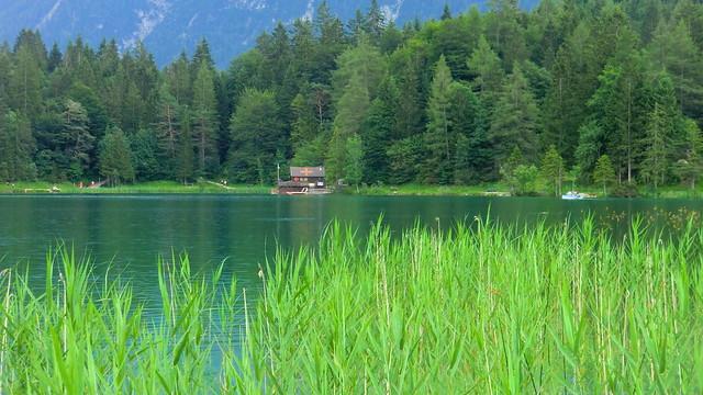Bayern - Mittenwald: Lautersee - a lake at an elevation of 1013 m
