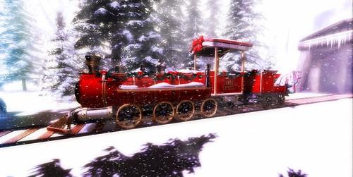 Santa Express @Luanes Winter World