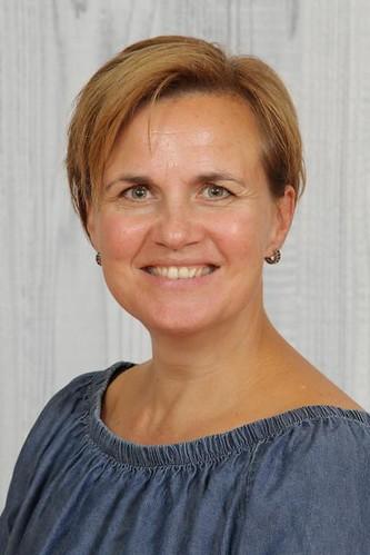 juf Susan, bovenbouwcoördinator en groep 6-7