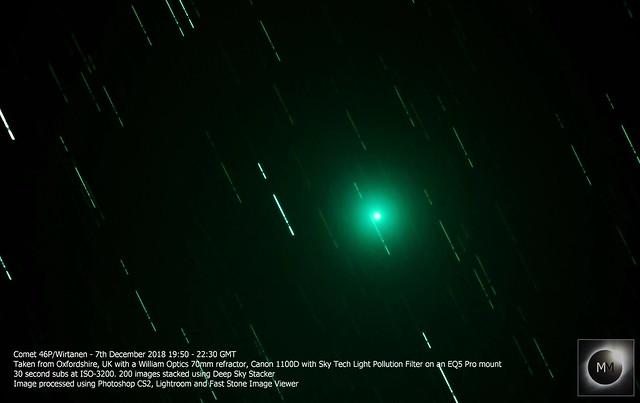 Comet 46P/Wirtanen 07/12/18