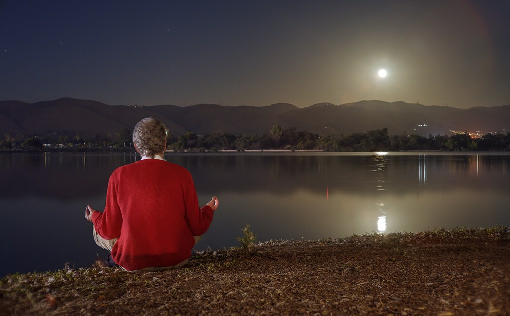 Meditation with out-of-body experience