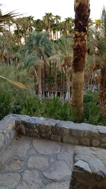 20180923_071405 View from Our Room at The Oasis Inn in Death Valley