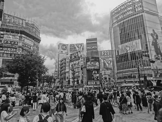 Shibuya Scramble 渋谷スクランブル交差点
