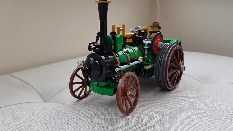 Brick Built Traction Engine