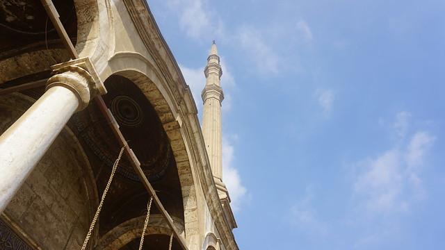 The Great Mosque of Muhammad Ali Pasha, the Saladin Citadel of Cairo, Egypt.