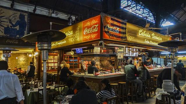 Mercado del Puerto - Montevideo, Uruguai