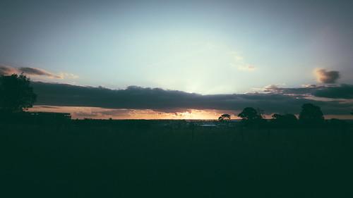appleiphone7 australia clouds landscape newsouthwales schofields sky sunset sydney