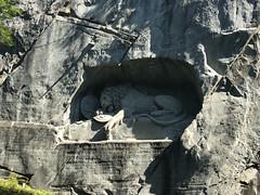 Luzern: Löwendenkmal