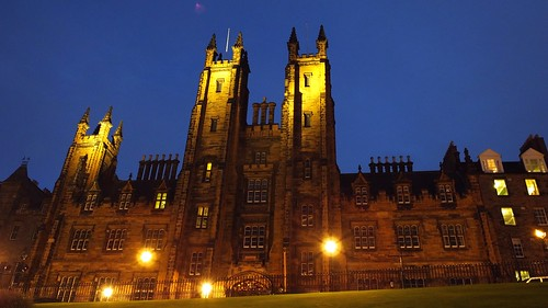 Church of Scotland Assembly Building, autumn evening 01 | by byronv2