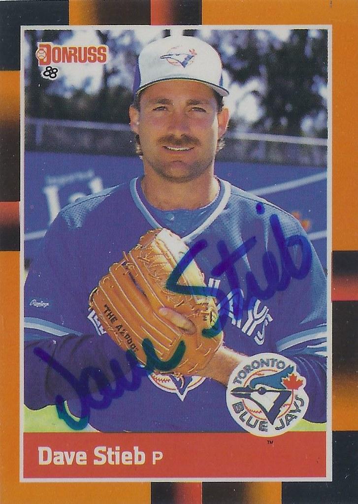 1988 Donruss Baseballs Best Dave Stieb 284 Pitcher