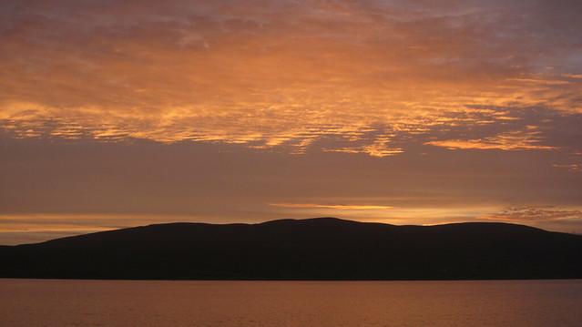 2018.0009 Loch Striven sunset