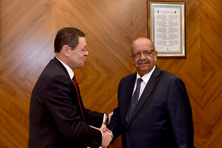 Deputy Minister Landers meets Algerian Foreign Minister Abdelkader Messahel