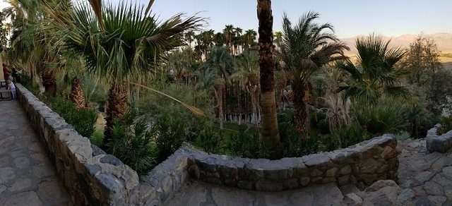 20180923_071423 View from Our Room at The Oasis Inn in Death Valley