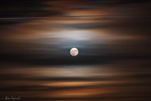 24th October 2018 moon   by Massimo Cavalieri d'Oro