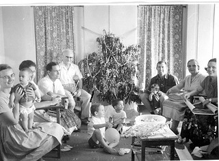 Missionary families at Christmas 1962 Ghana