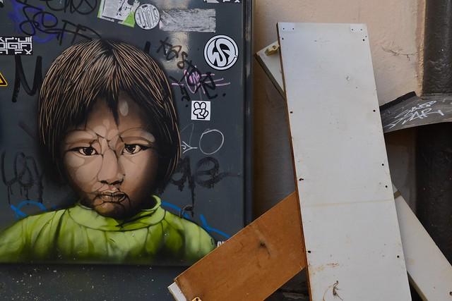 Guate mao street art