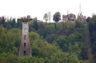 Resti pilone Funivia di San Luca (foto dal  web) | by alberto.cisotto
